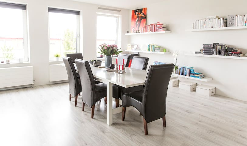 Enjoy space and luxury near the beach - Oegstgeest - Apartment