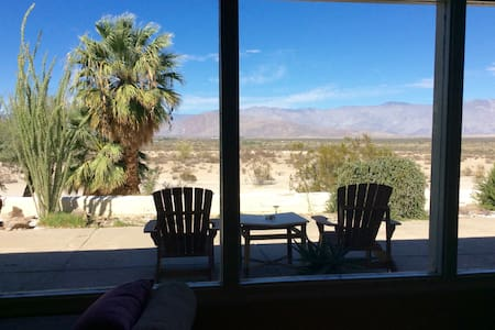 Wonderful Mid-Century, Privacy and Stunning Views - Borrego Springs