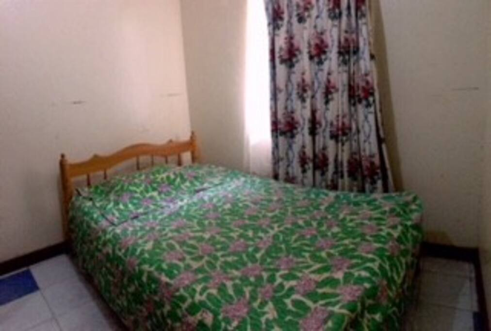 BEDROOM 2 with detached bathroom
