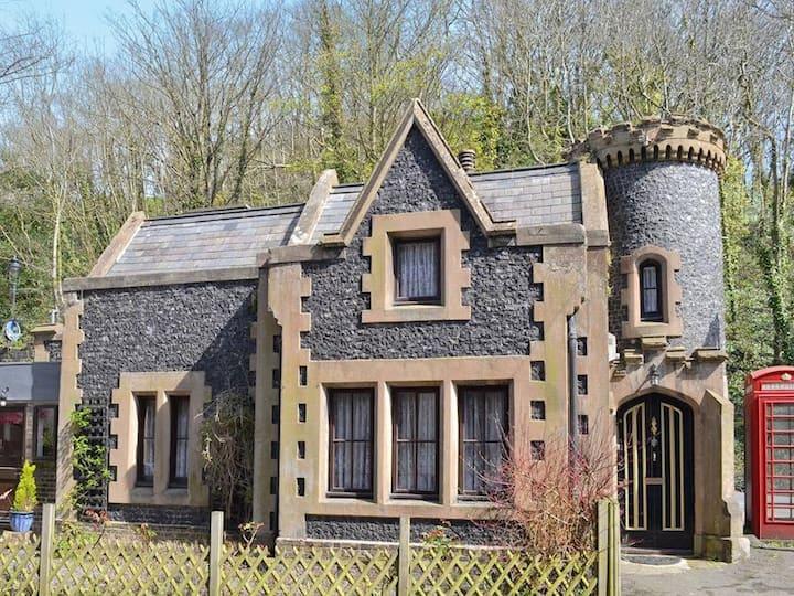 The Gate House, fairy-tale mini gothic castle