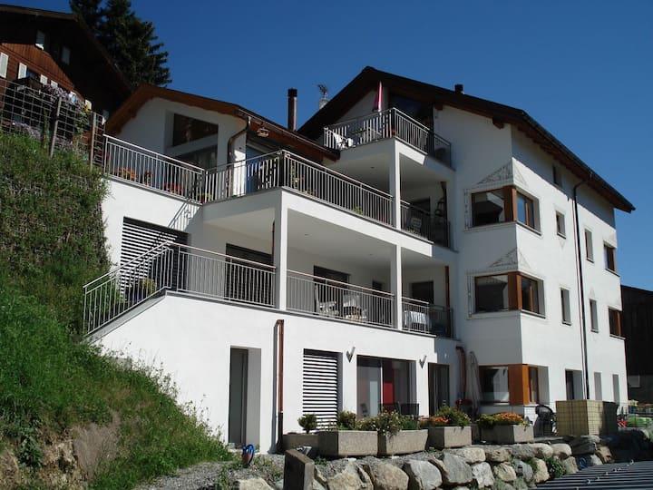 Ferienhof Pua in Sent - Obergeschoss