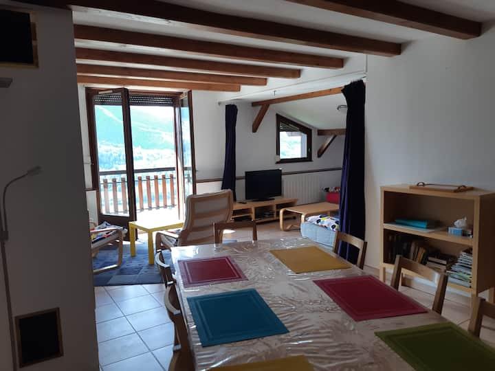 Appt confort 6 personnes au calme Bussang Vosges