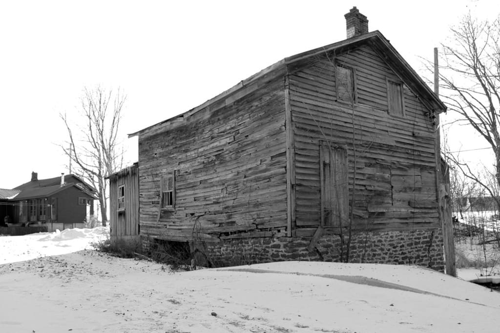 Heritage buildings on property.