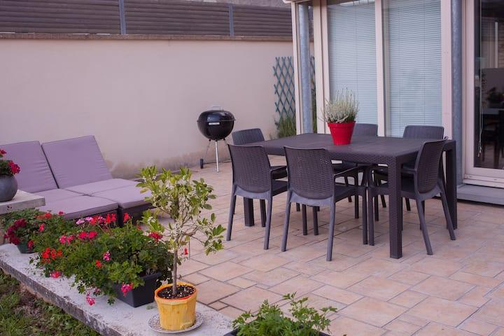 Centre Charleville appar 100 m2 ideal pour famille