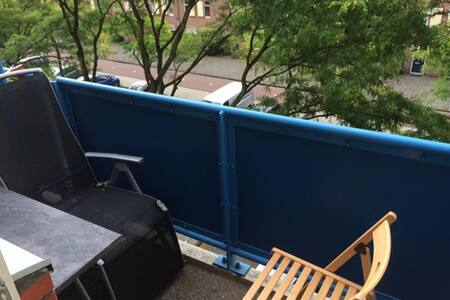Lovely room with balcony in Amsterdam ZO