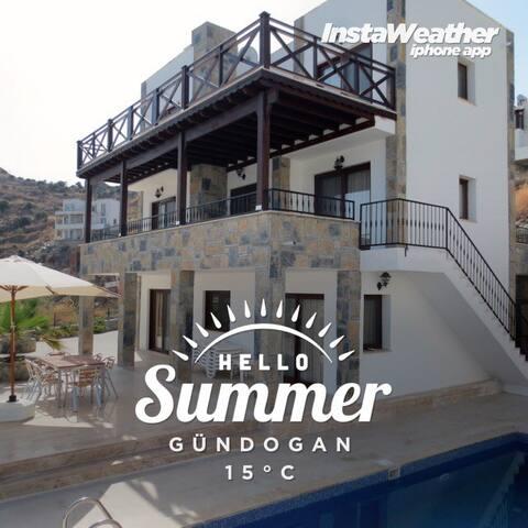 Villa met zwembad voor 10 personen - Gündoğan - Villa