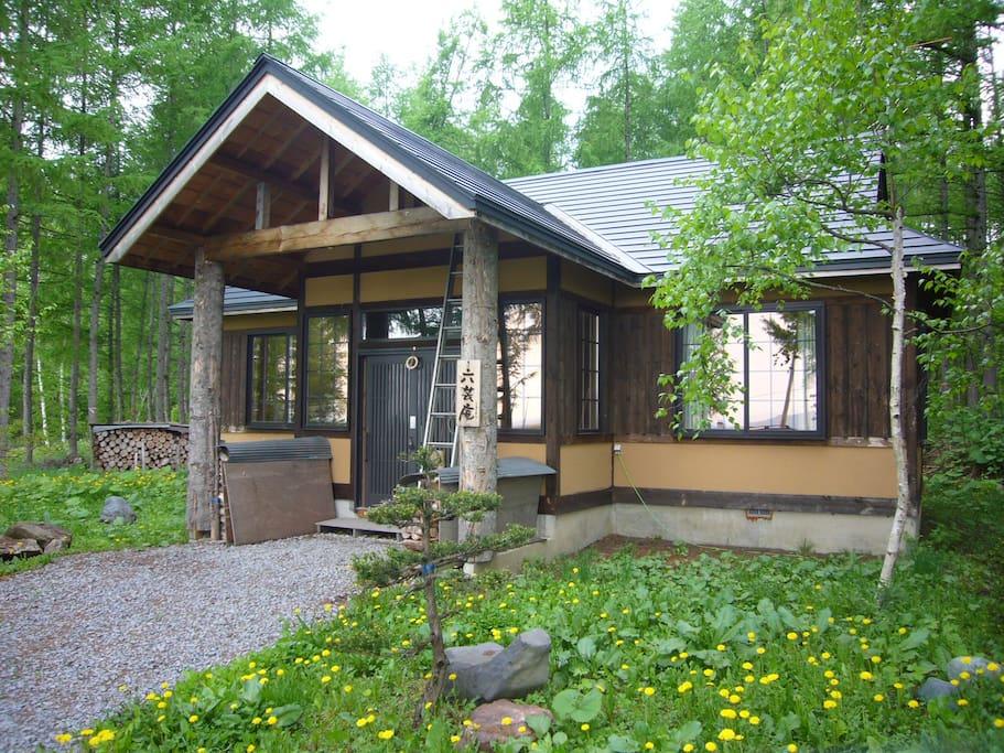 森の中の一軒家