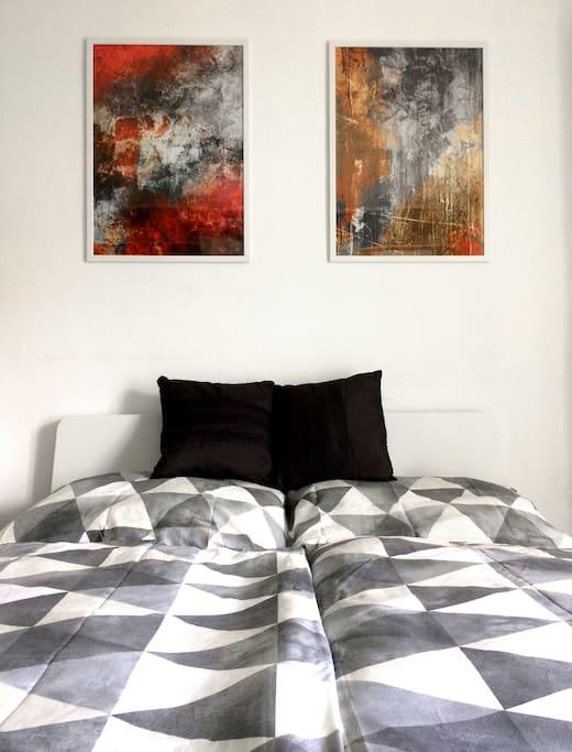 Bett/bed 140x200