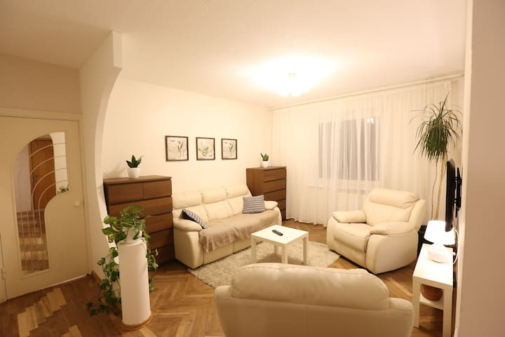 Sunny & Spacious 2 Bedroom Apartment