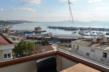 Seaside + Princes islands view & Bostanci ferry - 卡德柯伊(Kadıköy) - 公寓