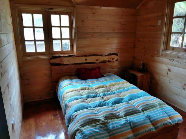 Habitación 2, cama matrimonial
