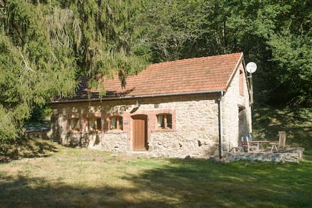 Fisherman Cottage ideal for couples very peaceful - Saint-Priest-la-Feuille