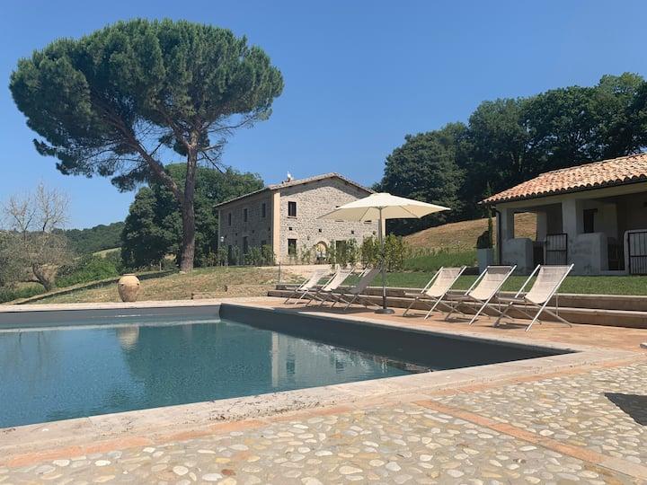 Casale Sfarina, private swimming pool