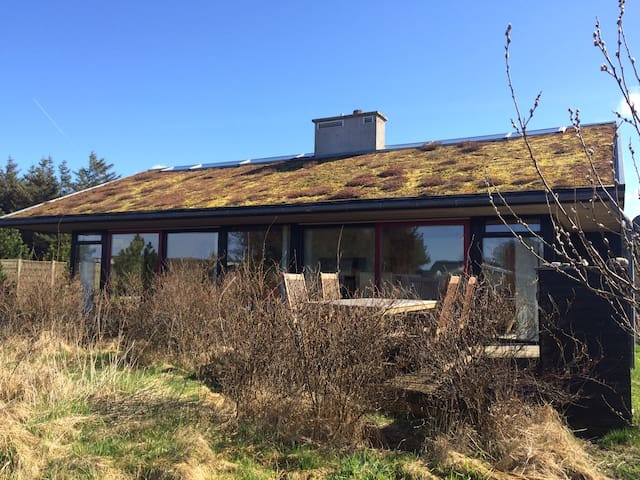 Luxury holiday home (low energy) in Nr Vorupør
