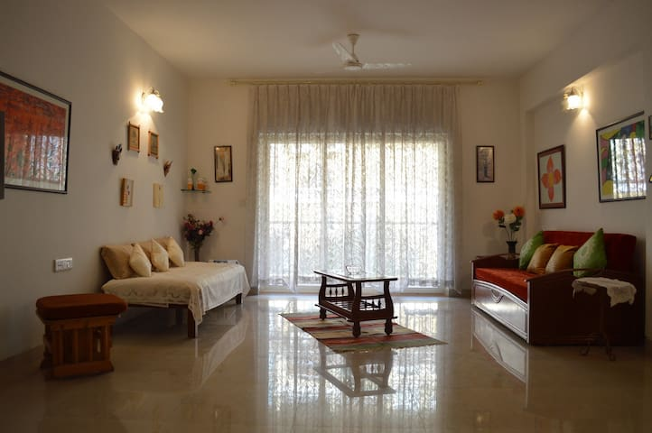 Spacious 2 bedroom apartment @Mapusa - Mapusa - Apartemen