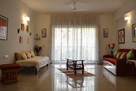 Beautiful and Spacious 2 bedroom apartment @Mapusa - Mapusa - Apartmen