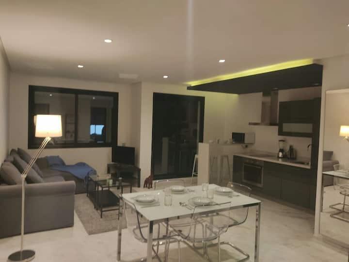 Cozy studio de 70m² en plein centre ville maarif