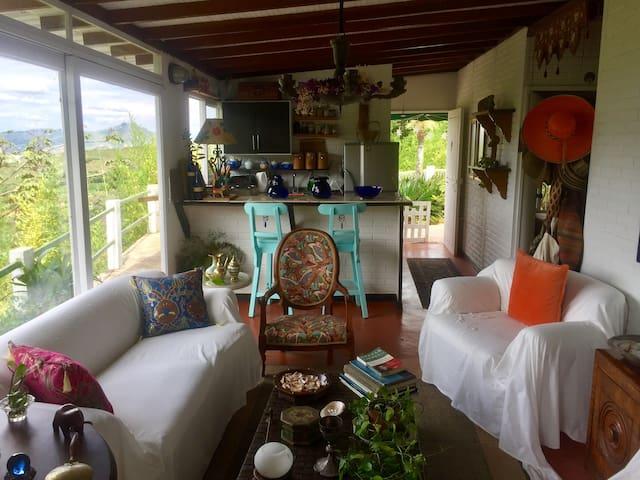 Espectacular Casa Campestre con vista - กาลี - บ้าน