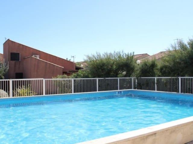 Maison 4 personnes, rés Minerve, piscine - LS367