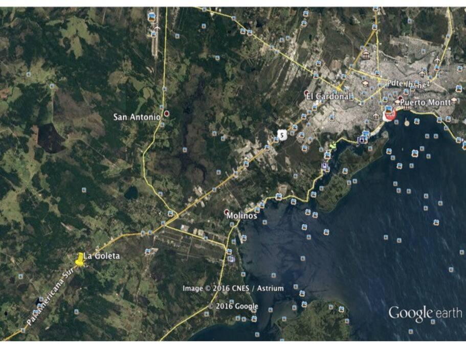 Ubicación por Google Earth
