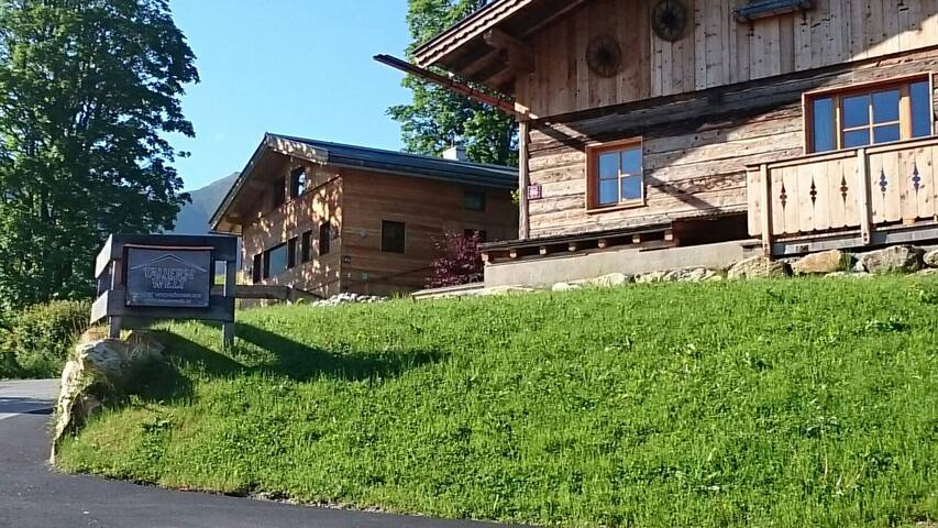 Tauernwelt-Chalet mit Outdoorsauna SKI IN SKI OUT