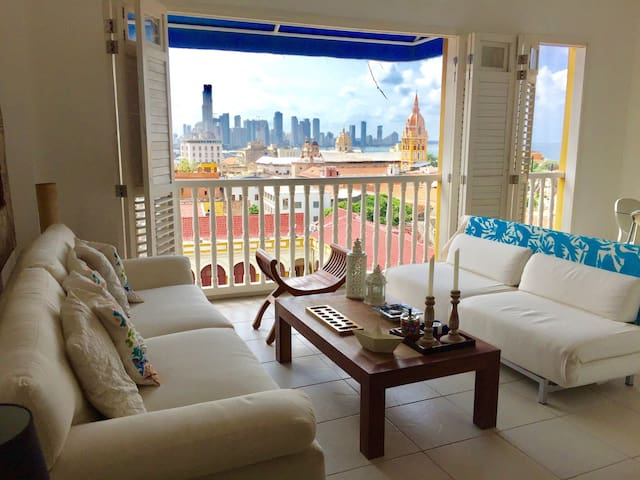 Old City, Perfect view - Cartagena - Cartagena - Apartamento