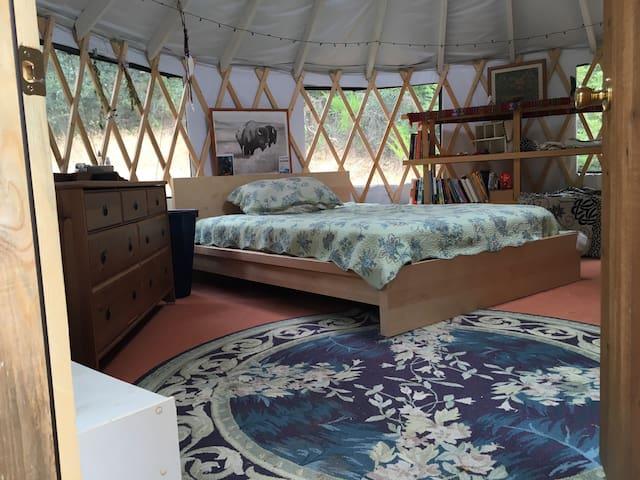 16' Yurt on 20 beautiful acres - Soquel - Jurta