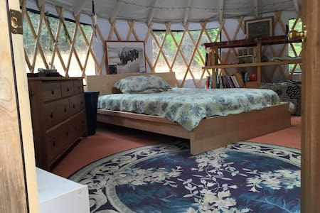 16' Yurt on 20 beautiful acres - Soquel