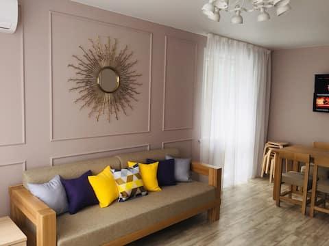 Apartmán s 3 spálňami v srdci Vladivostoku