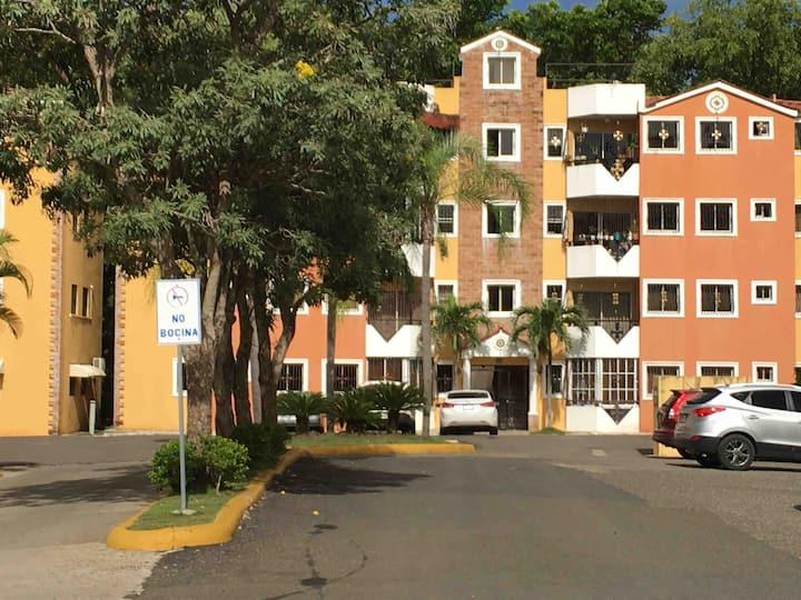 Apartamento amueblado en Santiago .