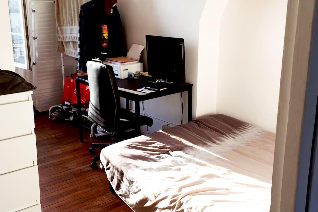 Chambre - Bureau