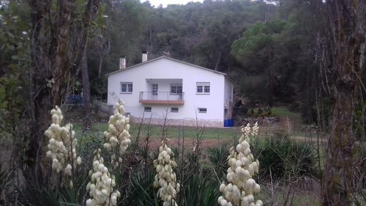 Espectacular casa en Parque Natural del Montnegre