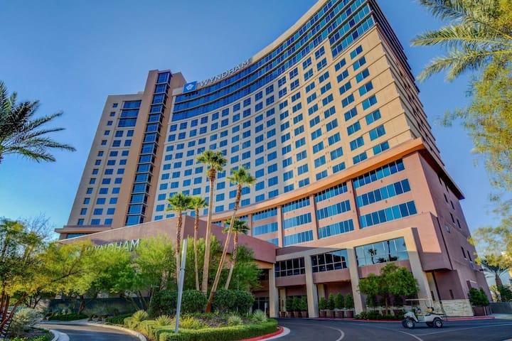 Wyndham Desert Blue Resort  2 bedroom 2 bath condo