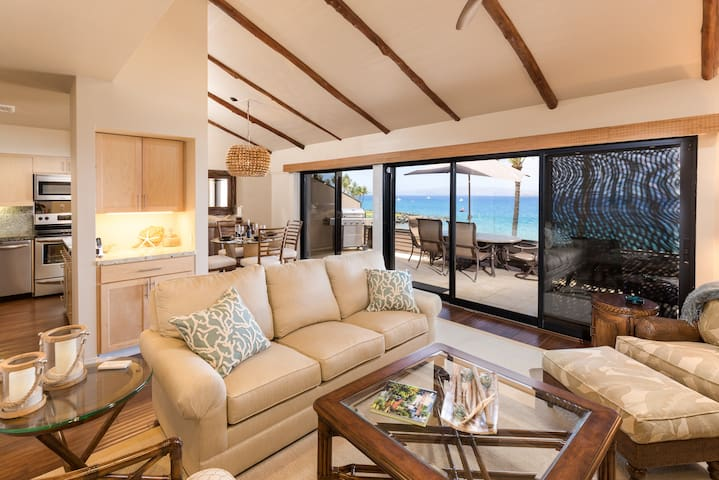 Makena Surf - Beachfront Condo B303 - Makena