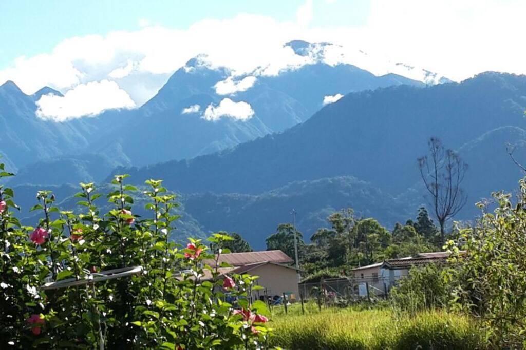 Hermosas Vistas al Volcán Barú