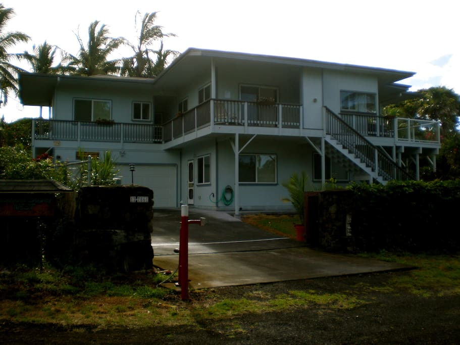 Kalapana Shores entrance