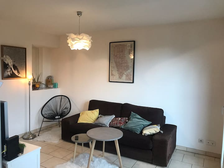 Bel appartement pour un séjour grenoblois (CLIM!)