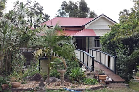 Lovely self contained flat in Byron hinterland - Goonengerry