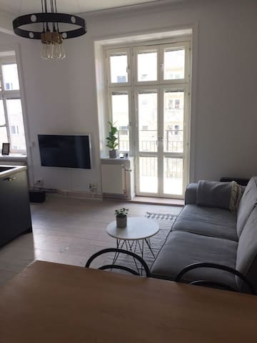 A well-designed flat with balcony in Vasastan
