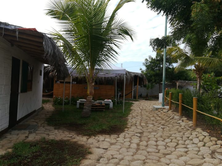 MANCORA - RUSTIC ROOM FOR 3 PAX