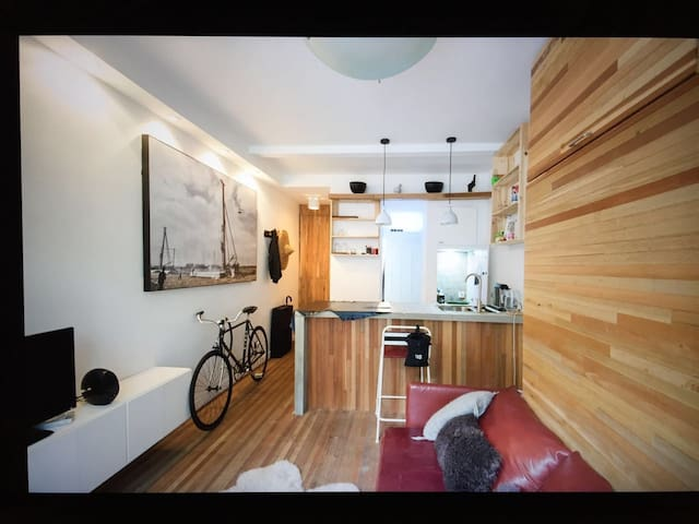 Recycled, Compact, All you need. - Xangai - Apartamento