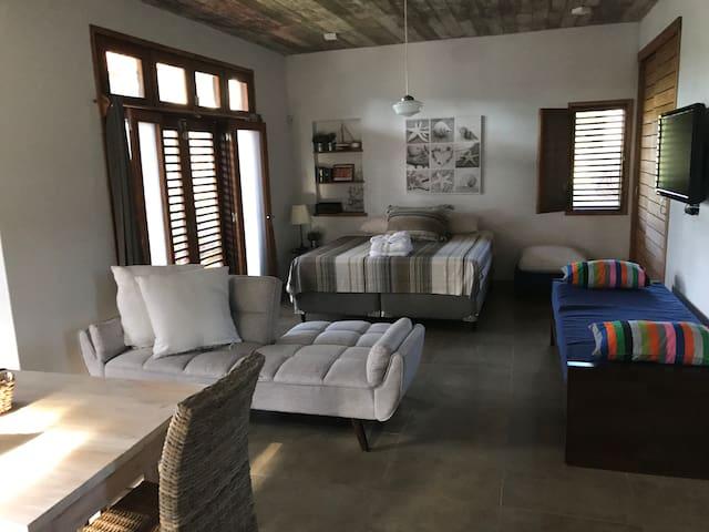 Casa Studio Monica - Sommier King + cama + sofa cama