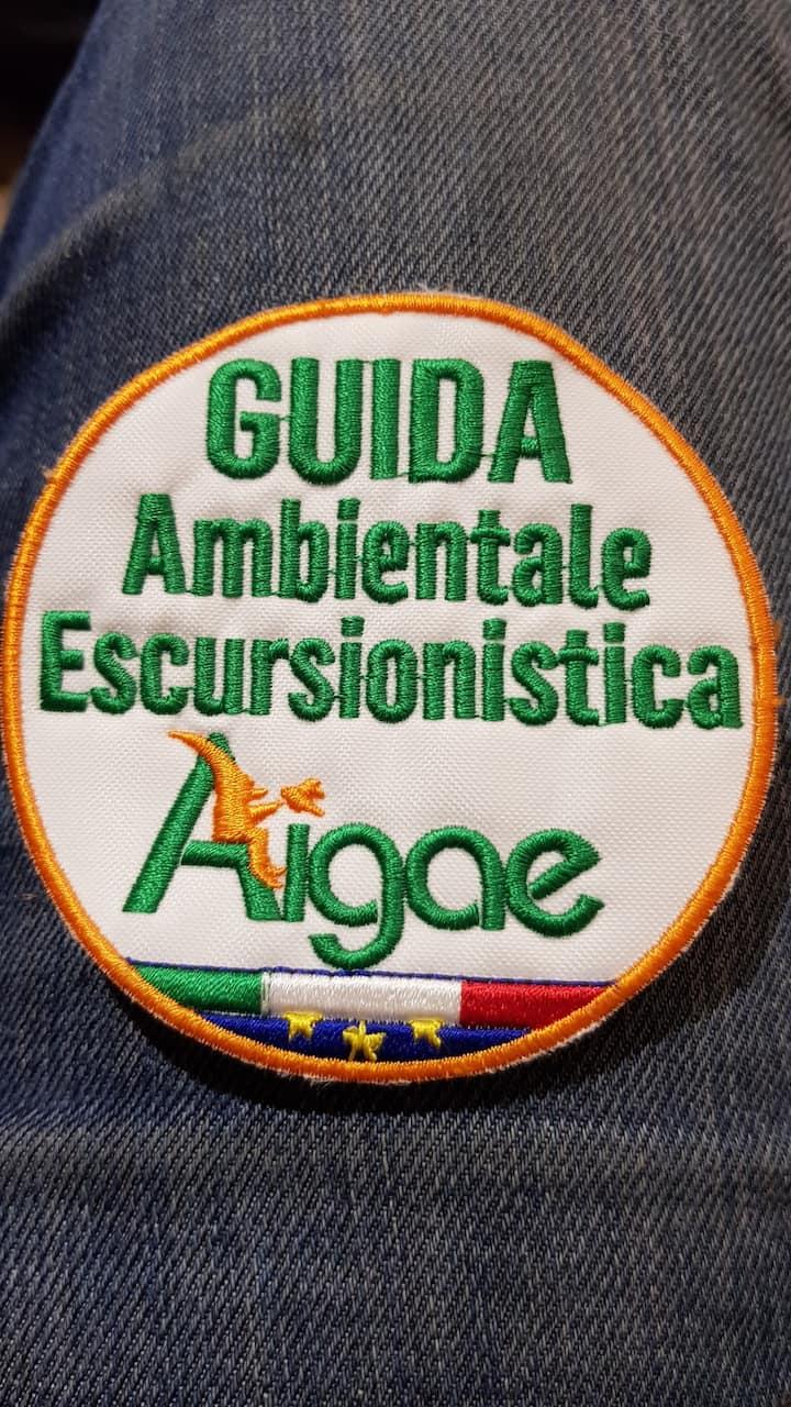 Hiking guide badge
