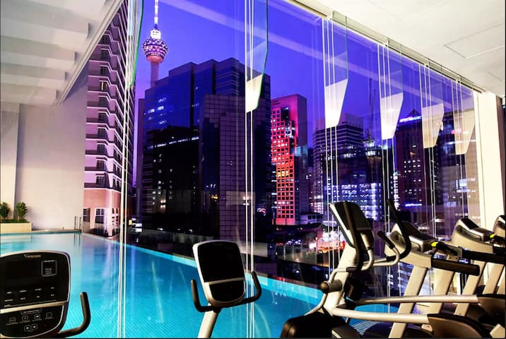 Home Suites INVITO with Balcony BUKIT BINTANG★★★★★