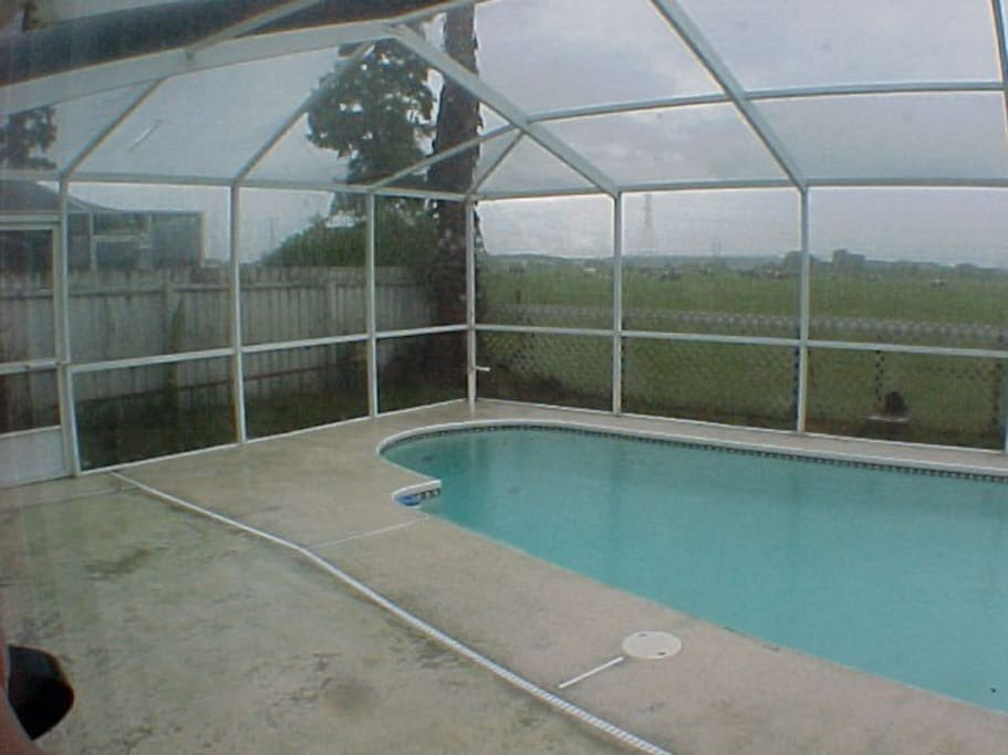 Pool adjoins Cow Pasture