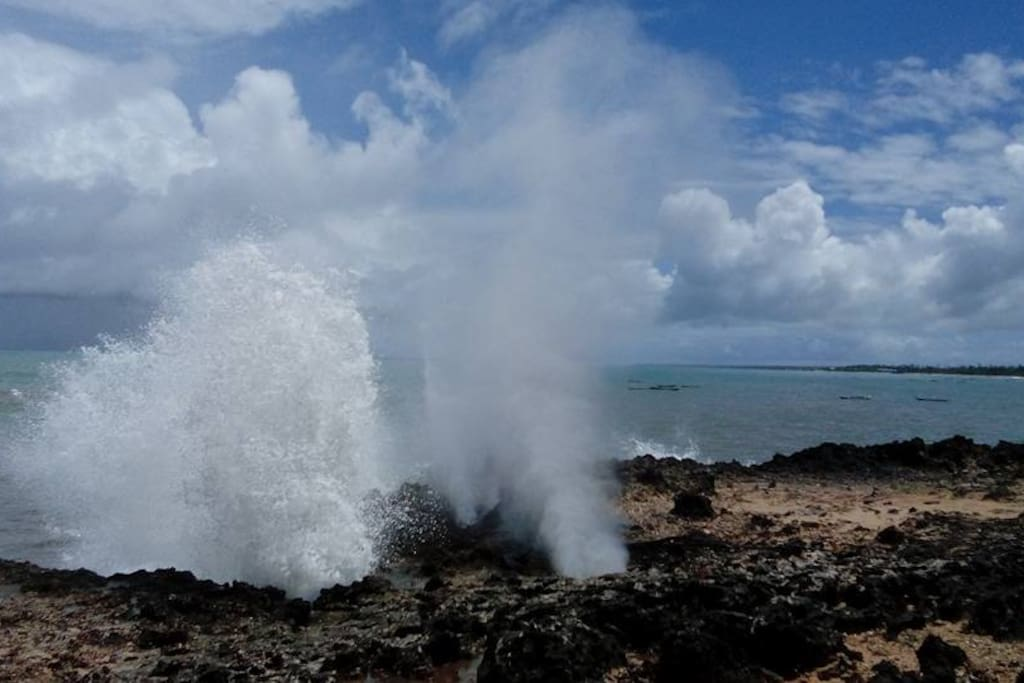 Local Blow hole