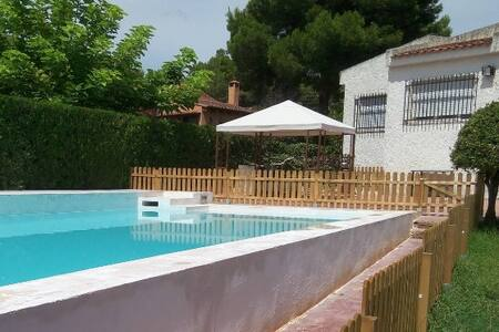 Ample villa with beautiful views and swimming pool - Bétera - Chalet