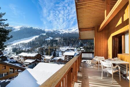 Appartement skis aux pieds, centre de Méribel - Les Allues - Wohnung