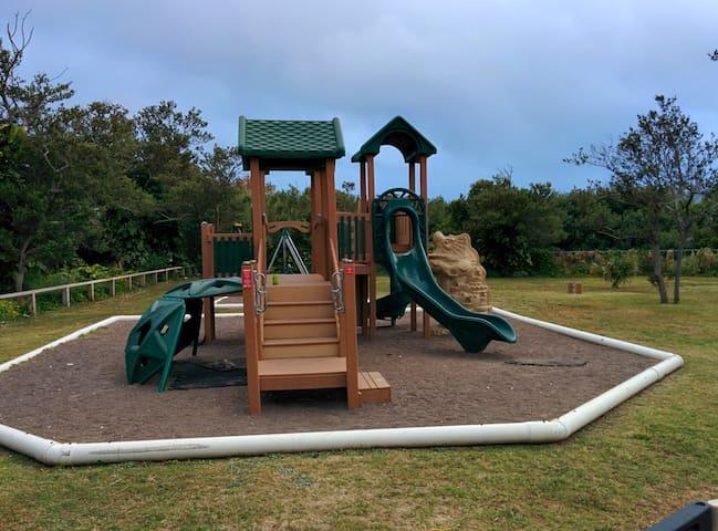 Playground at Long bay park