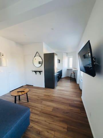Superbe appartement pour séjour en amoureux